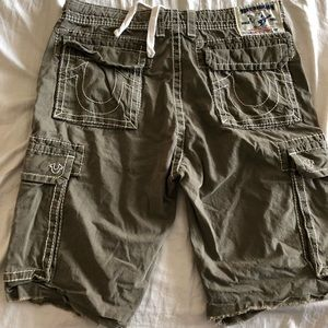 True Religion Carbo Shorts